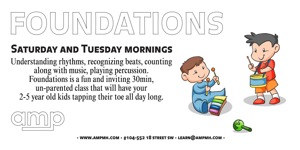 Musical Foundations Classes at AMP Medicine Hat