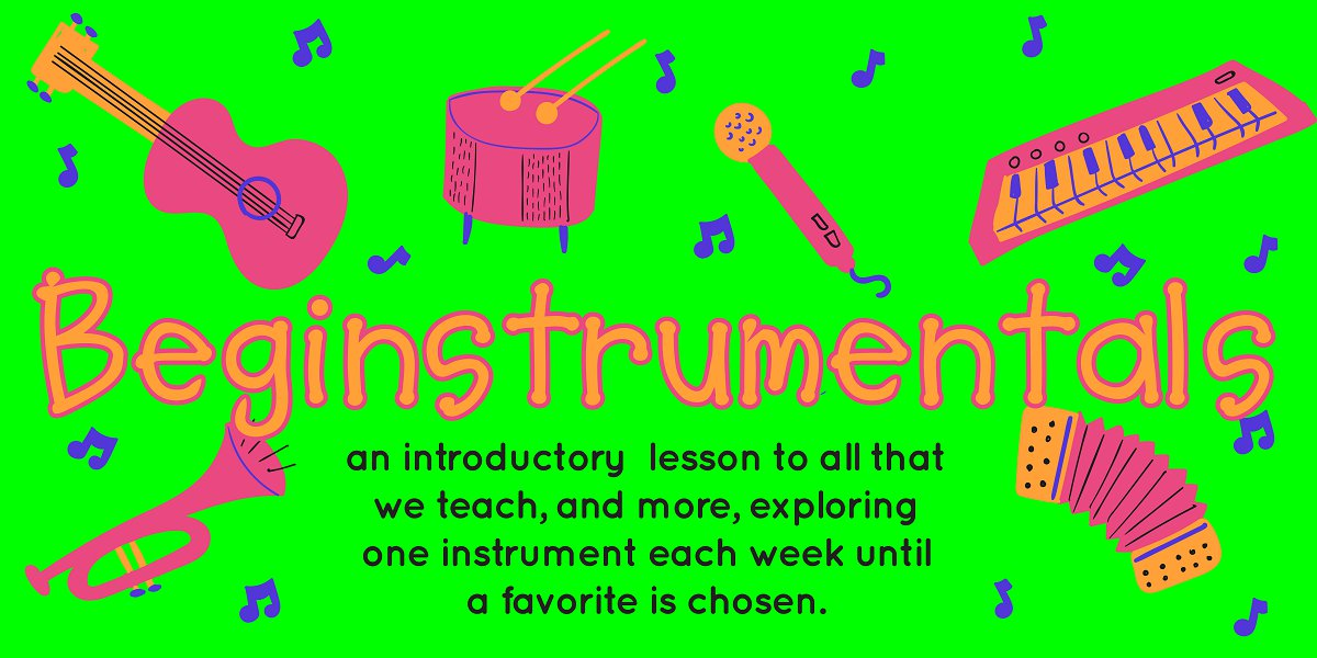 Beginstruments - Early music development at AMP Medicine Hat